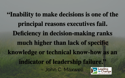 How good are your decisions?