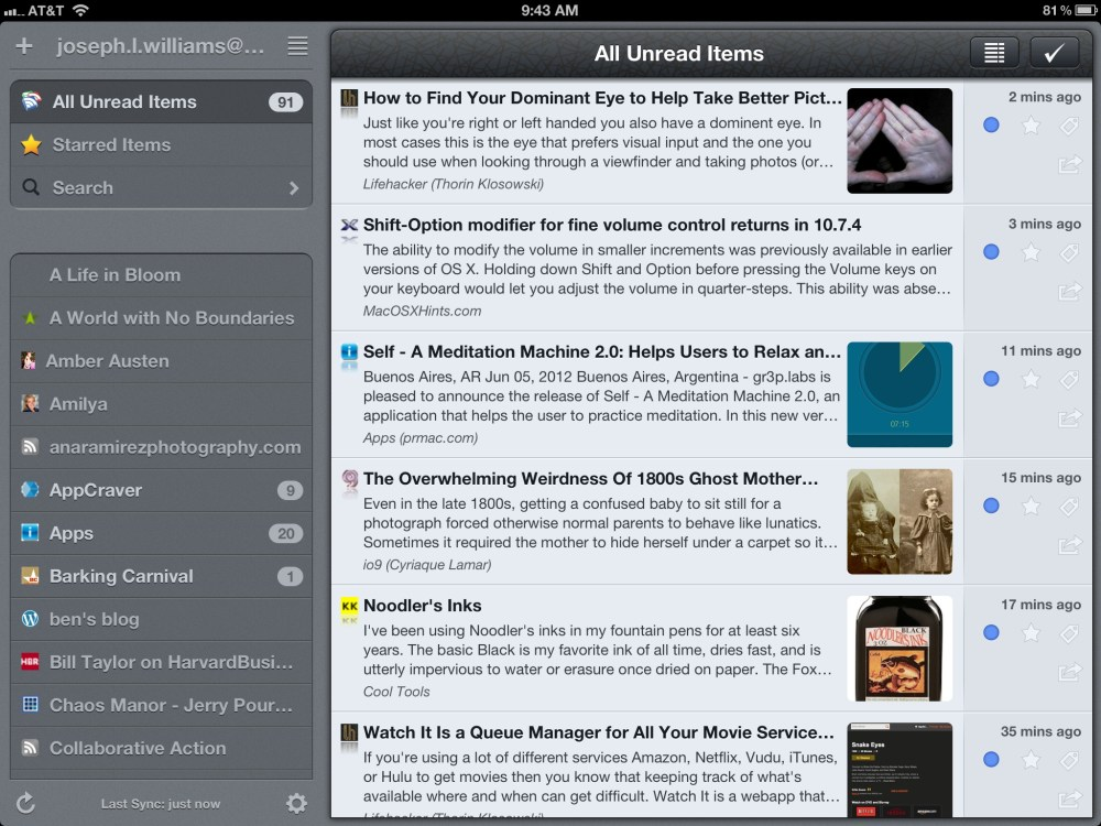 My iPad Apps (5/6)