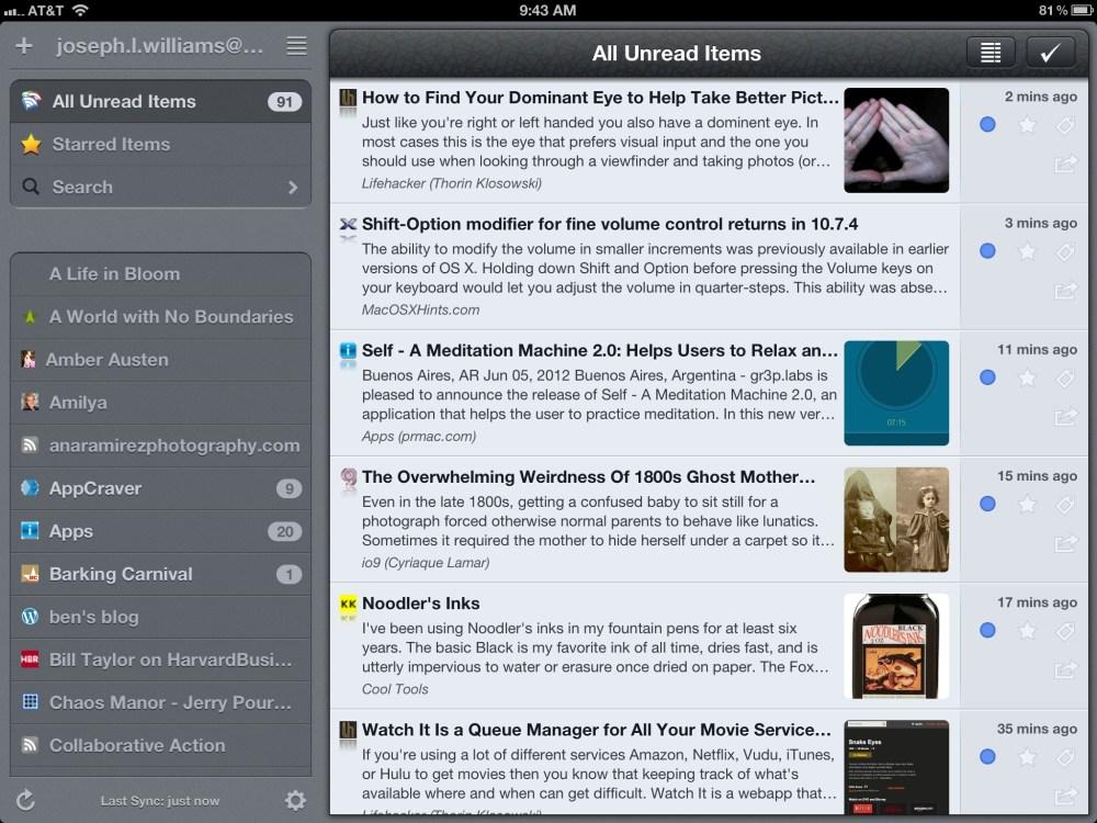 My iPad Apps (5/6)
