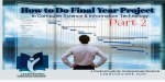 Meaning, Objectives and Importance of Final Year Project