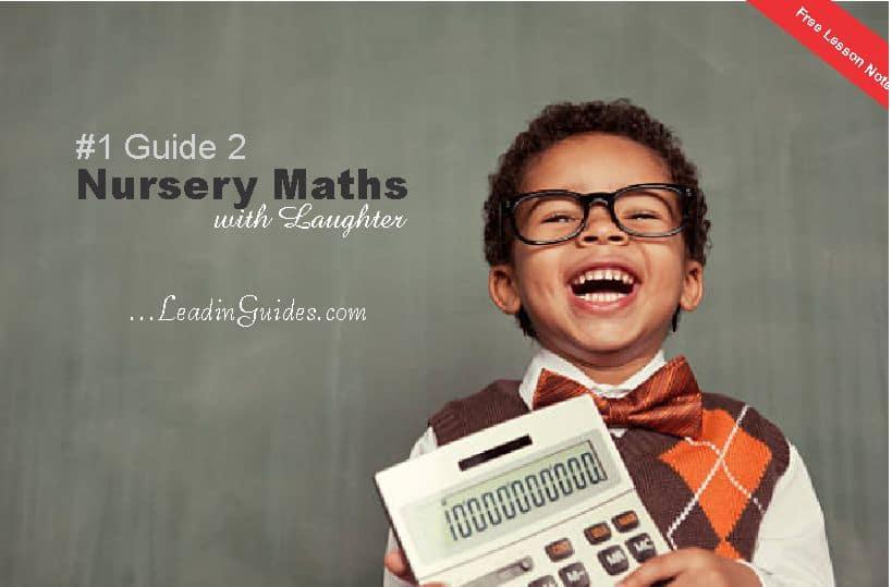 Lesson Note Nursery One First Term Mathematics Week 8