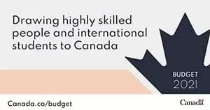 Drawing higly skilled people and international Students to Canada