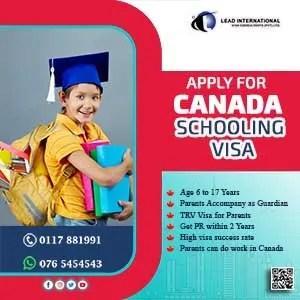 Canada Schooling Visa