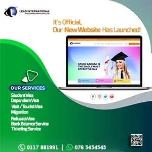 Webite Launch