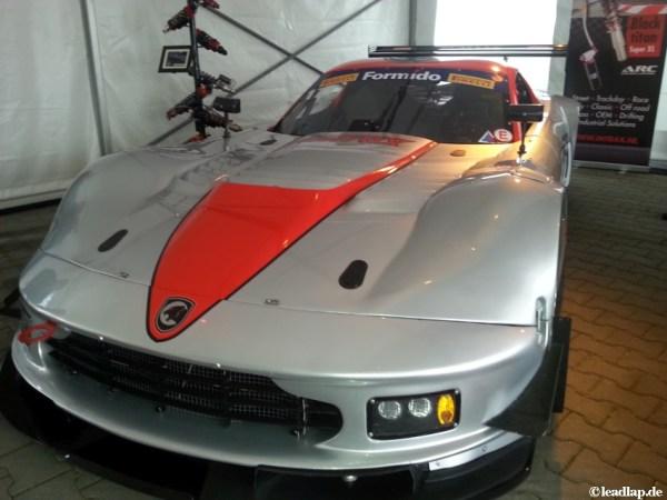 Fahrzeug für die Dutch Supercar Challenge