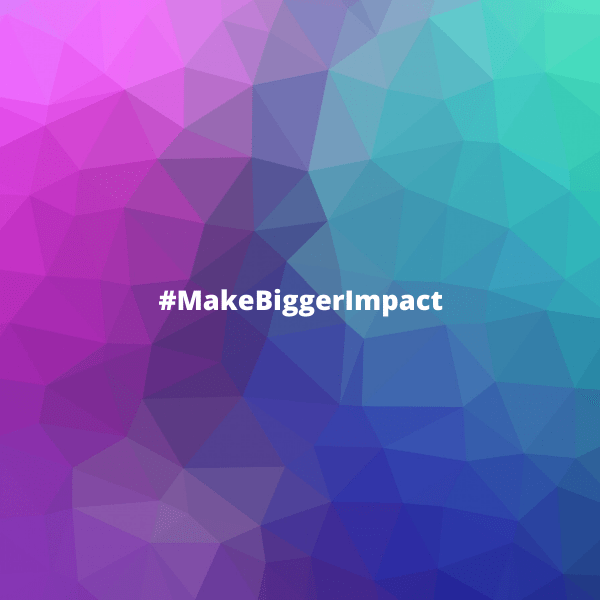 """""""You will make bigger impact when you know and serve your audience better."""" ~ Donna Marie Johnson"""