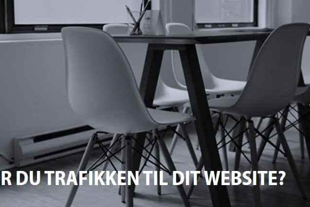 trafik til hjemmeside