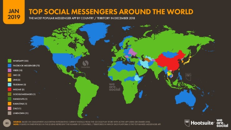 most-popular-messenger-apps-by-country