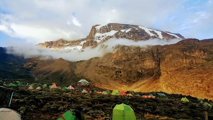 barranco wall, mount kilimanjaro
