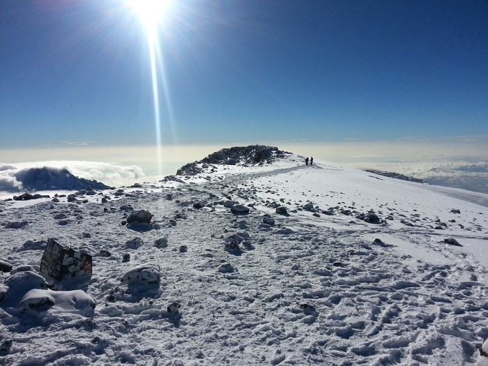 kilimanjaro is one of the seven summits