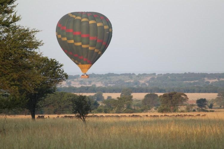 Ultimate safari adventure: hot air balloon in Serengeti
