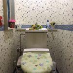 快適な温水洗浄便座付きです。(トイレ)