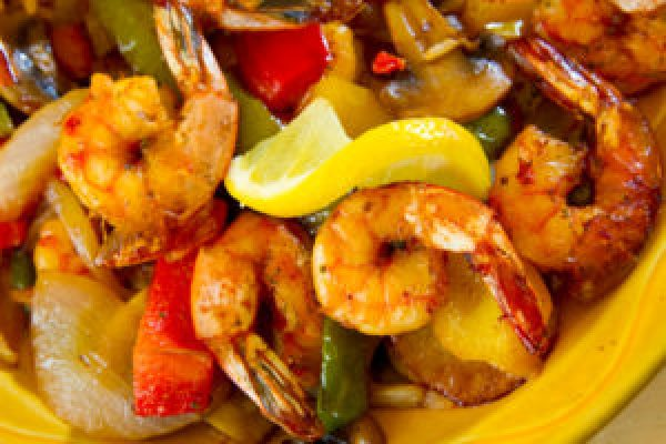 10-Minute Shrimp Fajitas Mexican Recipes