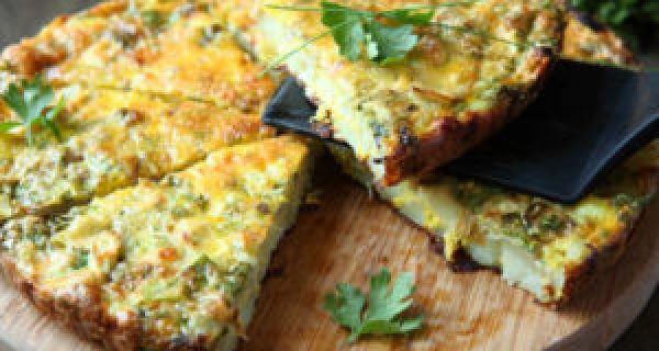 Recipes for Egg Lovers 5-Ingredient Veggie Frittata