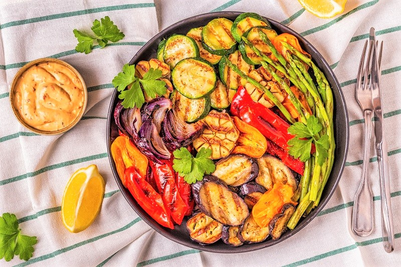 cookout grilled veggies