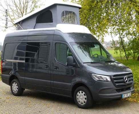 Verhuur buscampers, maatwerkcampers, Mercedes Sprinter campervan