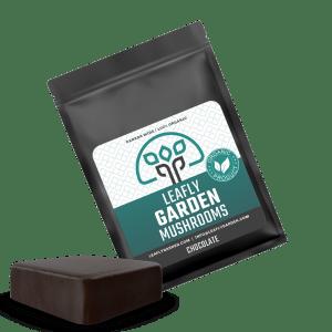 Leafly Garden Mushrooms Package Chocolate
