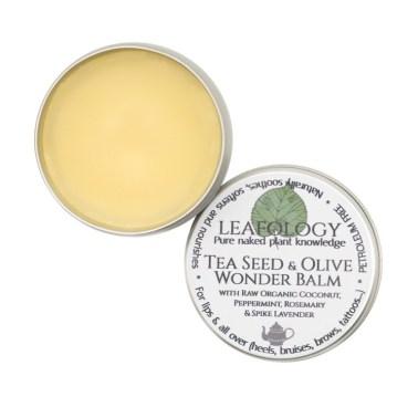Leafology Natural Skincare Tea Seed & Olive Wonder Balm