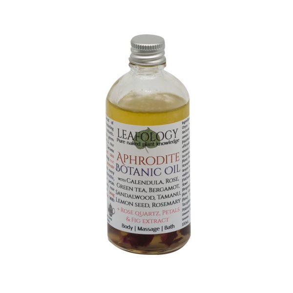 Aphrodite Botanic Oil Natural Vegan Skincare