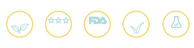 CBD THC-Free All Natural FDA Vegan Made in USA