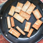 Easy Tofu for Non-Believers - Leafy Greens and Chocolate