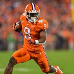 Clemson Running Back Travis Etienne Breaks ACC Rushing Record