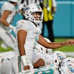 Tua Tagovailoa Makes NFL Debut Against Jets