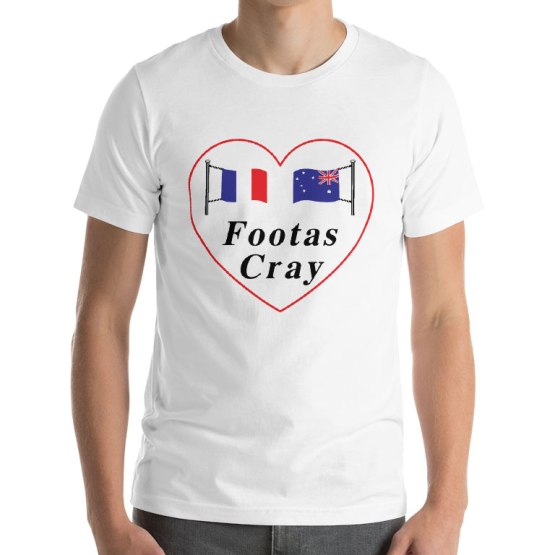 i love footscray shirt
