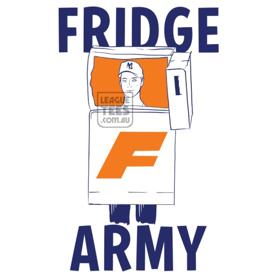 fridgearmy football t-shirt