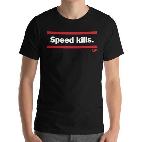speed kills essendon shirt