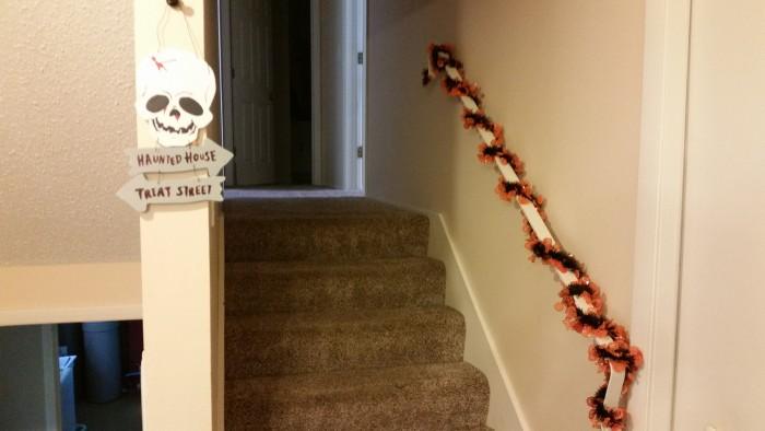 halloween decor haunted house treat street