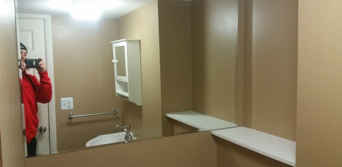 before picture bathroom