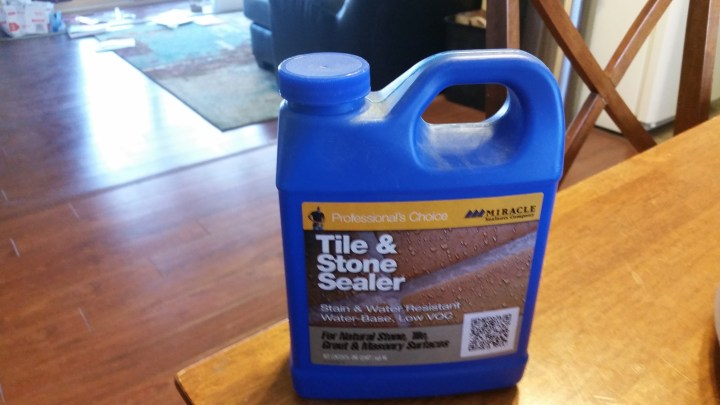 tile and shower sealer