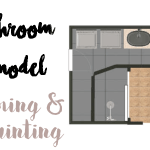Bathroom Remodel: Priming and Painting