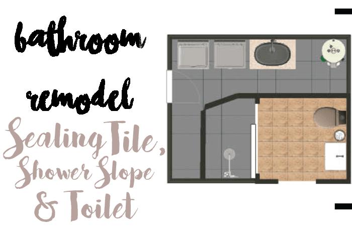 tile, toilet, slope