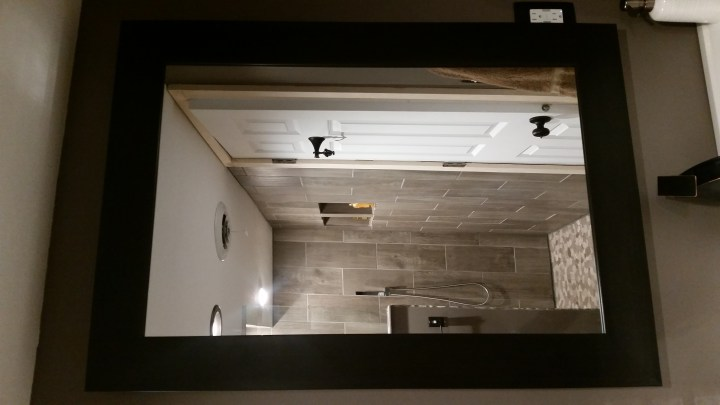 DIY backlit mirror LED lights