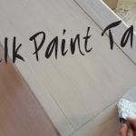 DIY Milk Paint Table