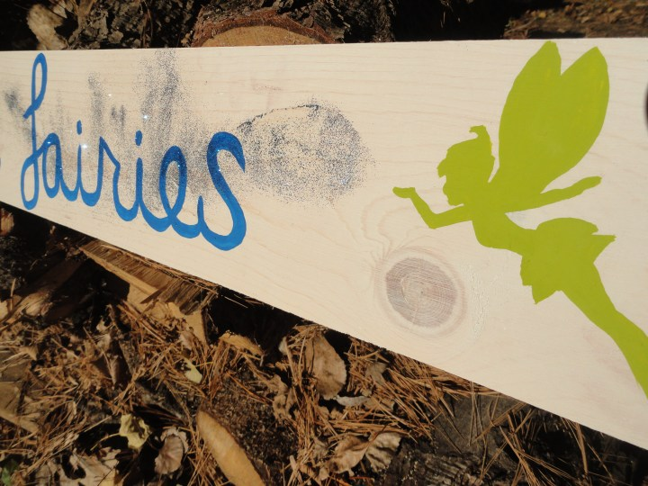 DIY reclaimed wood signs I do believe in fairies peter pan