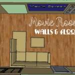 Movie Room: Walls, Doors & Floor