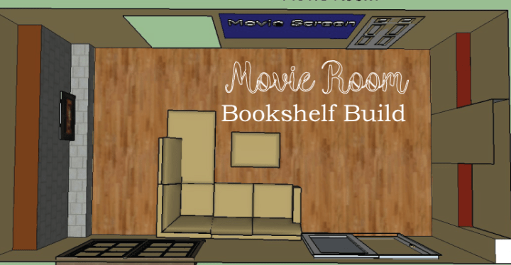 movie room bookshelf build 1 header