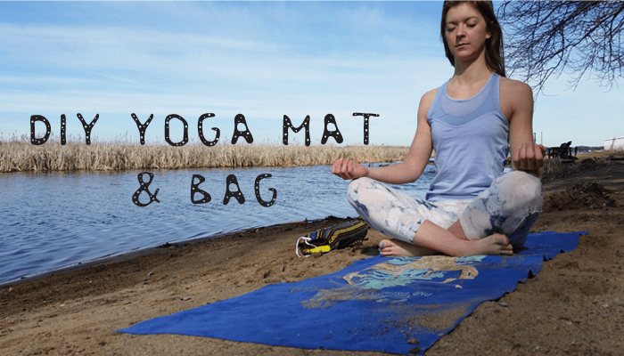 DIY yoga mat and bag header
