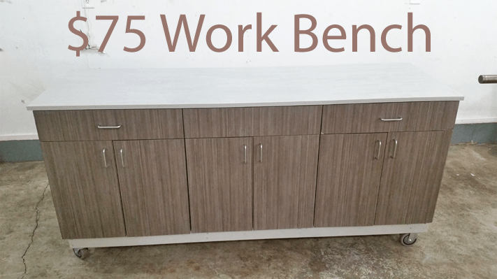 DIY work bench $75