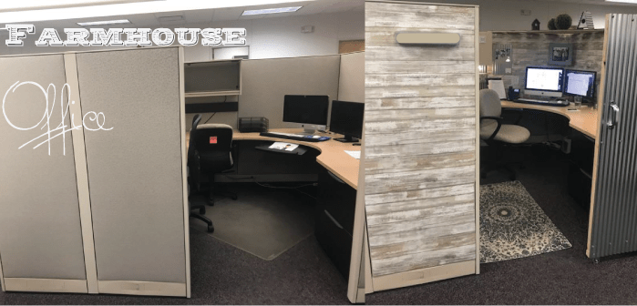 farmhouse office remodel