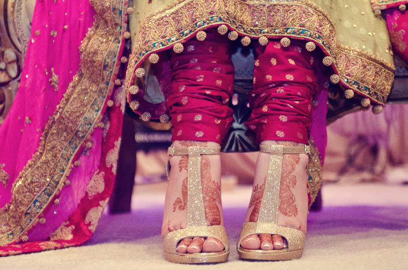 footwear for bride