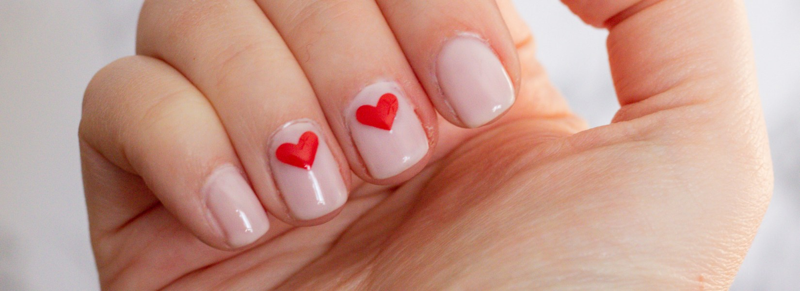 Easy At Home Gel Manicure With DIY Decals