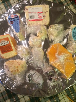 Some of our many cheeses