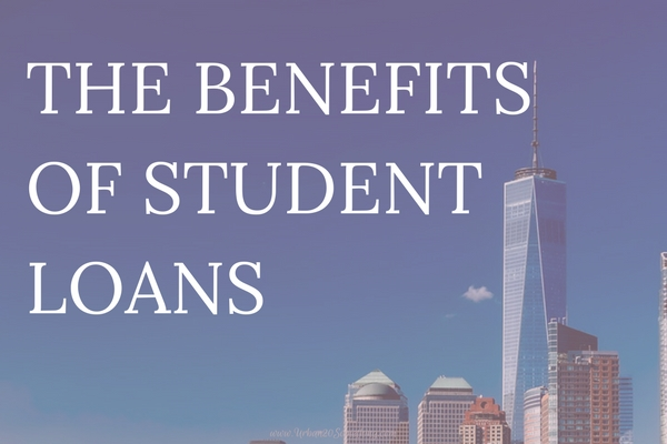 We hear so much about how awful student loans are. I wouldn't say I LOVE my student loans, but I'm grateful I have them and thankful for all they've taught me. Click through to read the good that comes with student loans.