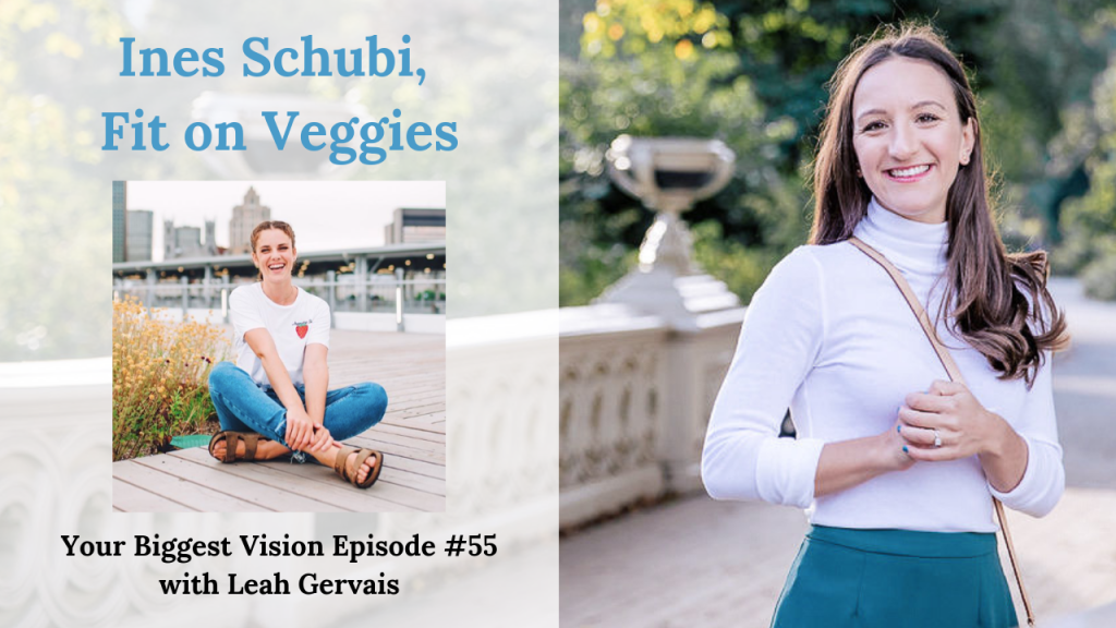 Tune in to this episode to hear how Ines Schubi, founder of Fit on Veggies, followed her travel bug and created her digital nomad business.