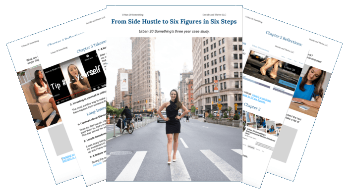 Leah Gervais case study from side hustle to six figure business
