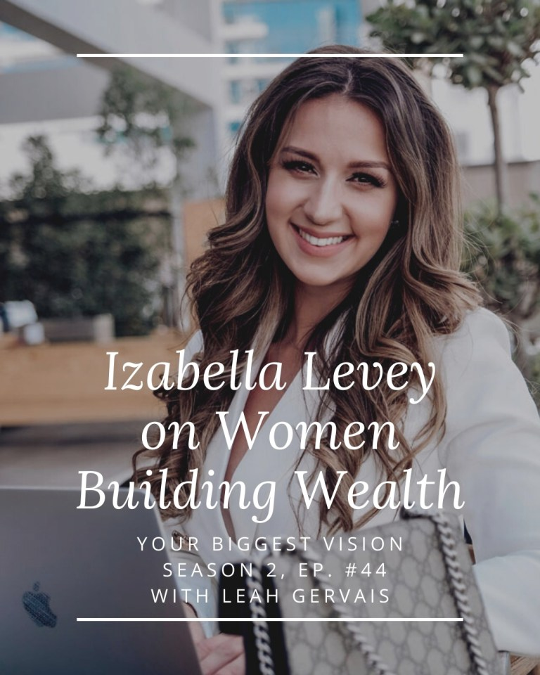 In this episode, Izabella Levey takes a deep dive into her personal philosophy around women building wealth and how to be a money magnet.